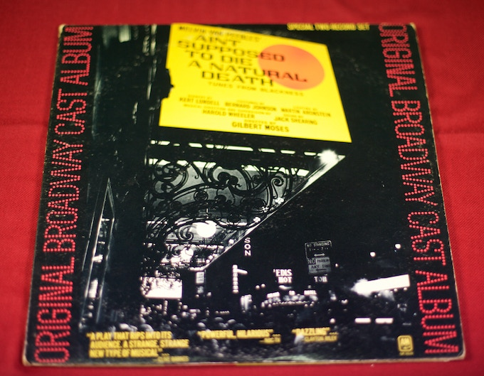 Melvin Van Peebles' Broadway cast album, - Ain't Supposed to Die a Natural Death