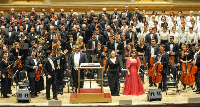 New York Festival Orchestra at the Carnegie Hall, 2013