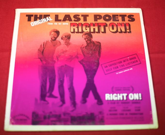 """Right On"""" – The Original Last Poets - Album"""