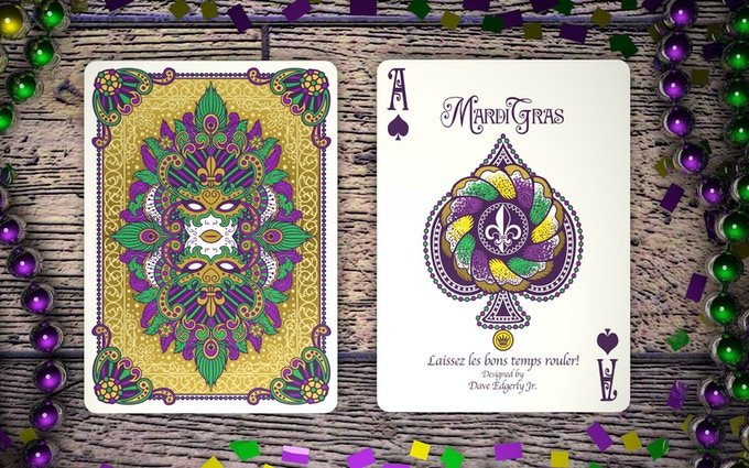 King Cake Ace of Spades!