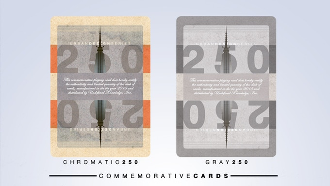 Front of Commemorative Cards
