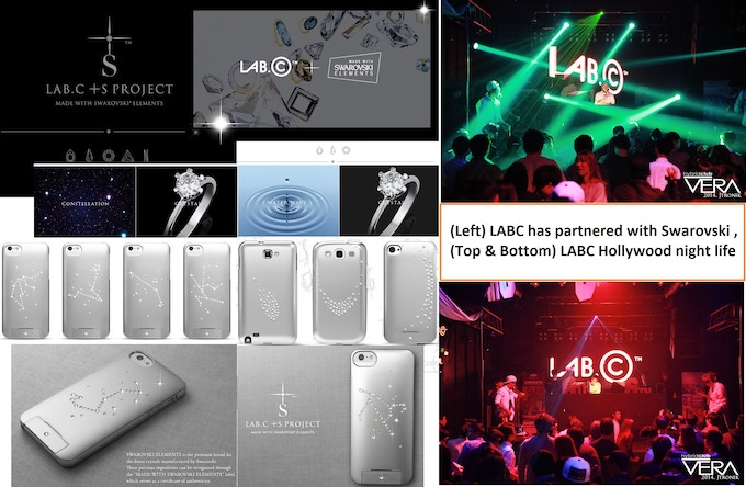 We have been introducing ourselves to the night life here in Hollywood promoting our brand & partnering with Swarovki for a phone case model, but now it is time to go worldwide on Kickstarter!
