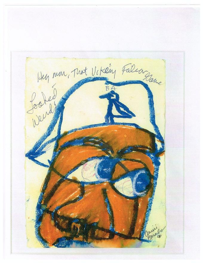 Original Artwork by Amiri Baraka  - Hey Man . . .