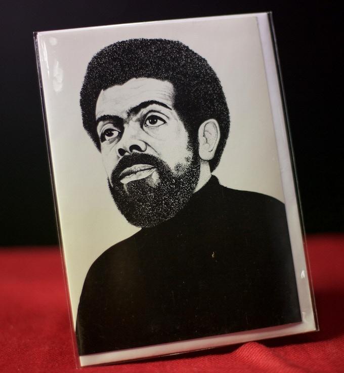 An Amiri Baraka Commemorative Card (blank inside)