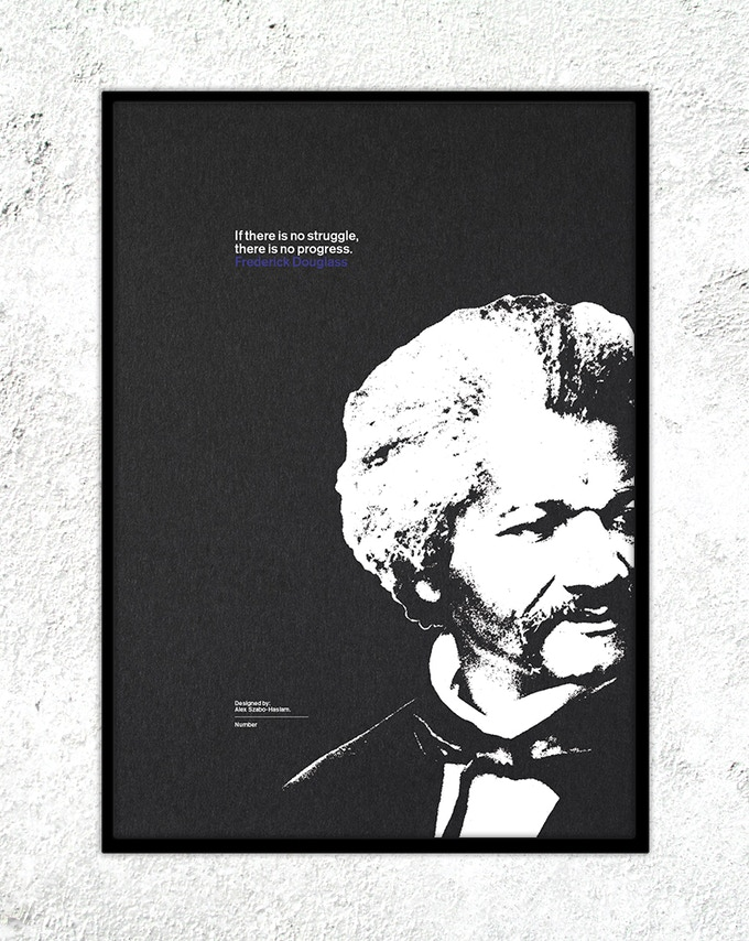 "13 – Frederick Douglass: ""If there is no struggle, there is no progress."""