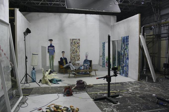 'The Bigger Picture' studio space