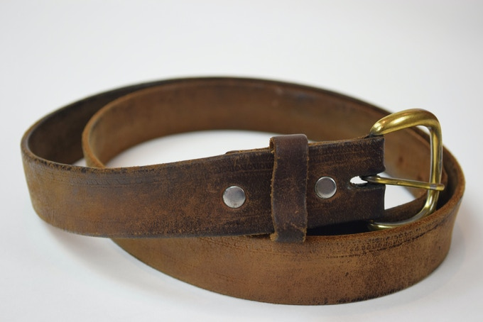 What started it all—My Father's Old Belt