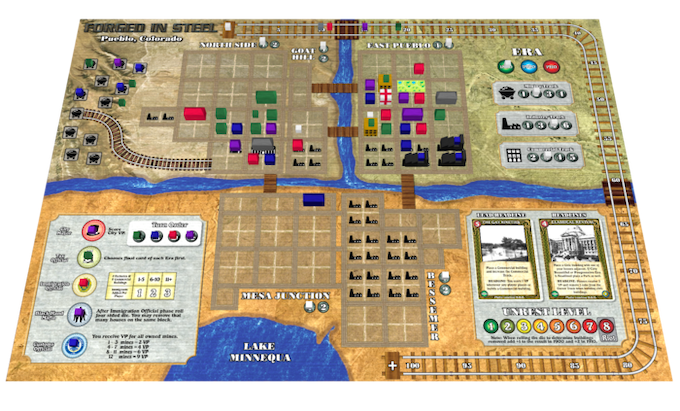 """""""Prototype Game Board"""" - Click Image for Larger Size"""