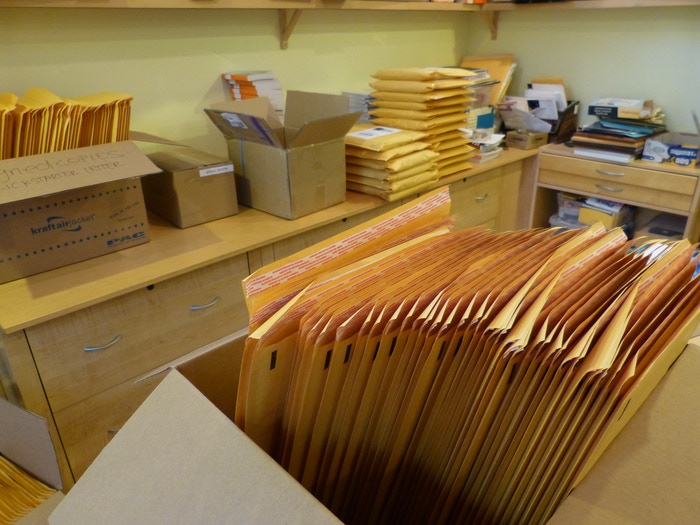 shipping envelopes