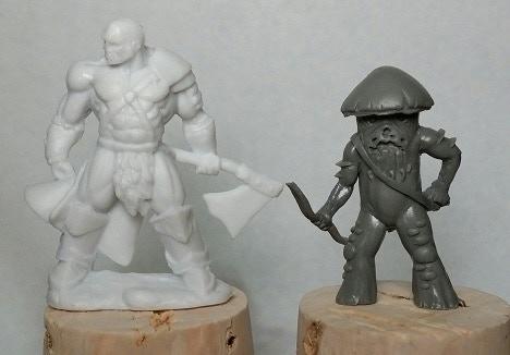 Scale compared to a Reaper Bones mini