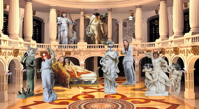 The Hall of Godly Intentions, where donors are deified! Day 4!