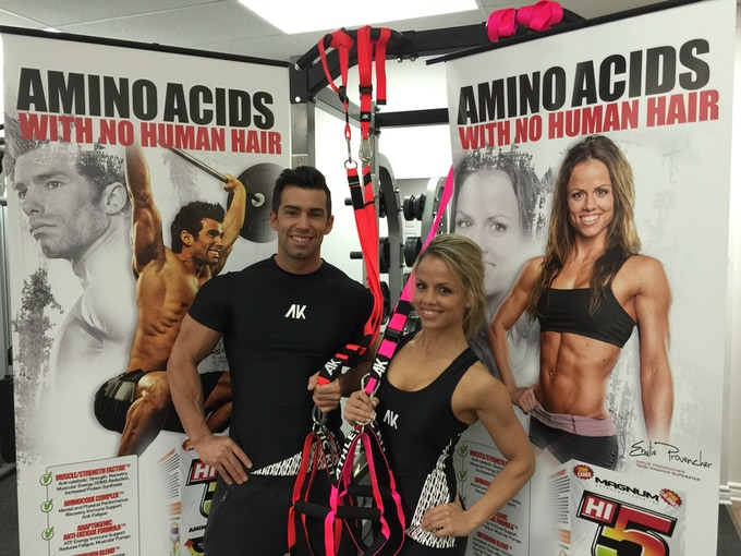 Alain Gosselin and Emilie Provencher - FITNESS MODEL - AK ambassadors