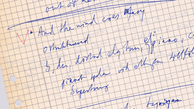 Some of my notes from the tape-listening session with Björn, Benny and Michael Tretow in 1993.