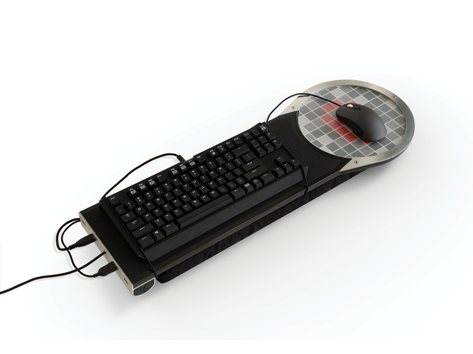 SURFER WITH MOUSE AND KEYBOARD