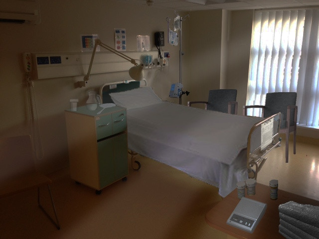 Production image from hospital location