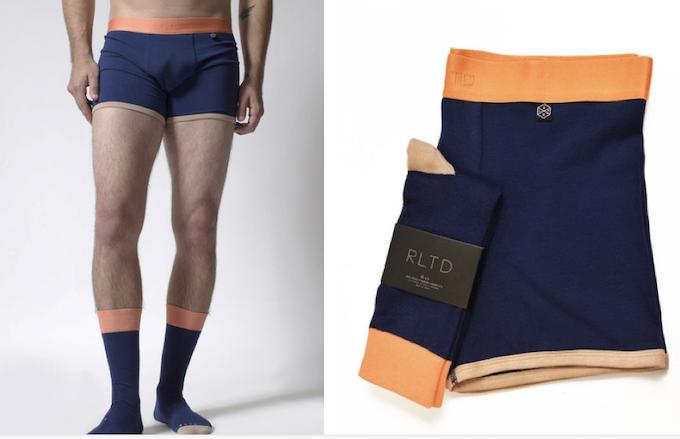 Orange/Navy/Beige