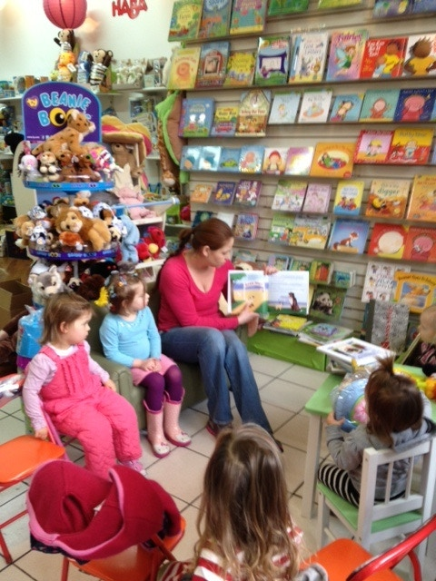 Pug Story reading at Kids Rule