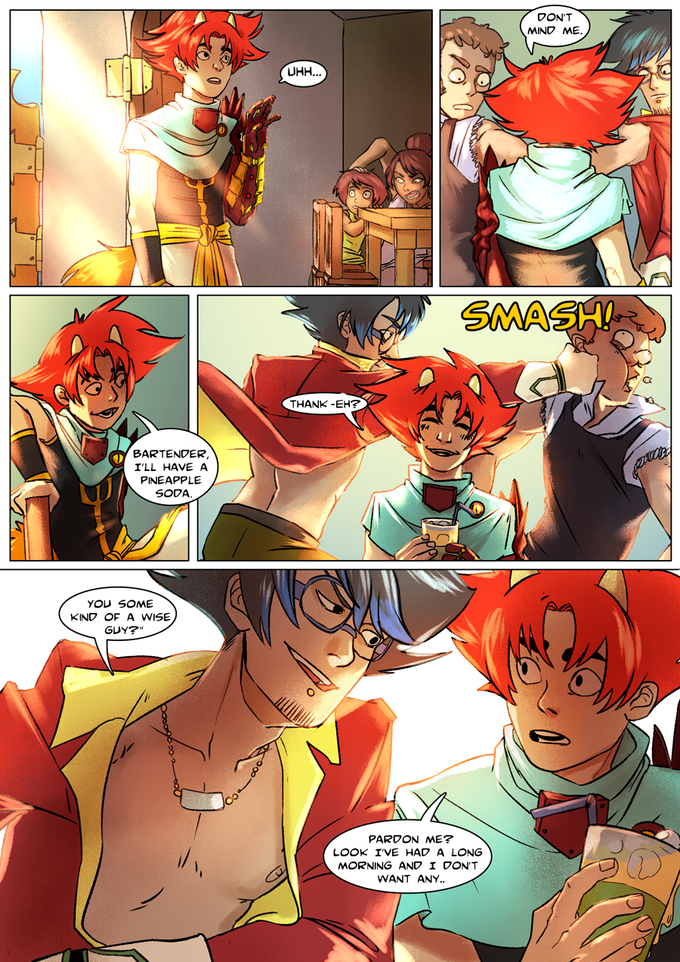 Ozma and Ry's first meeting. Click to read the rest!