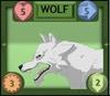 Wolf Monster Card