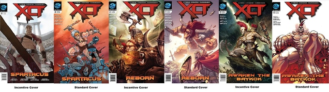 Here are all 6 Covers of the XCT series!