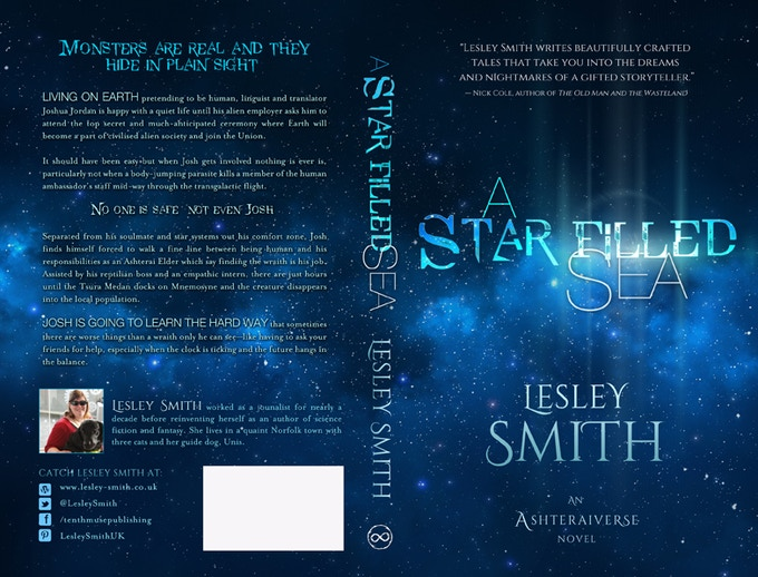 The paperback cover © Scarlett Rugers
