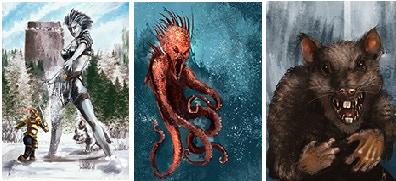 Monster Cards!