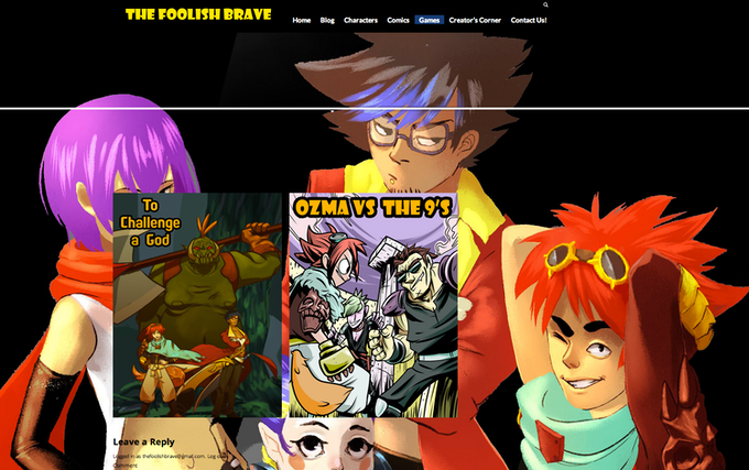 Official The Foolish Brave Site