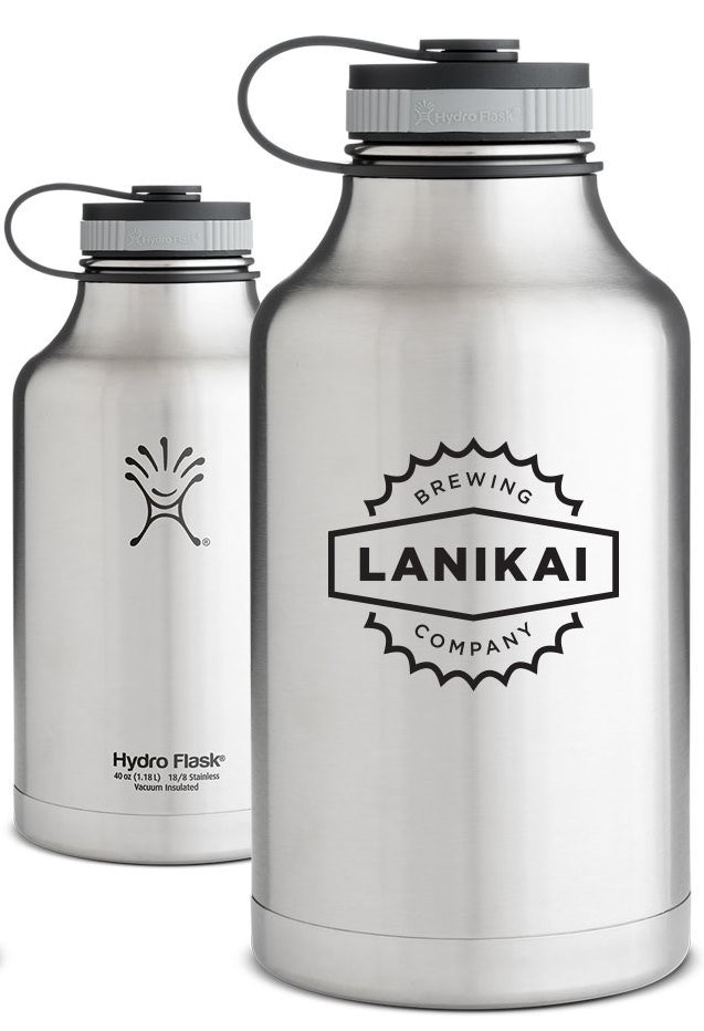 Stainless Steel 64-oz. Hydro Flask Growler