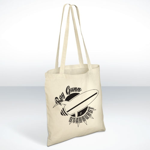 Ray Gunn and Starburst cotton tote-bag