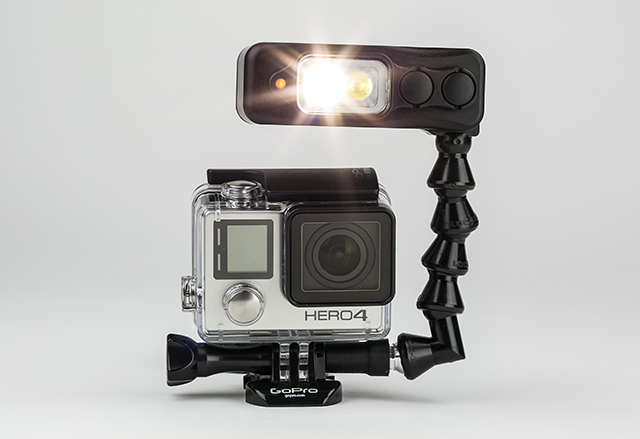 Sidekick: The Perfect GoPro Light by Light & Motion — Kickstarter