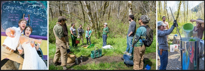 Have Old Growth Ales cater your special event, lead an educational plant harvest or lead a you-brew event.