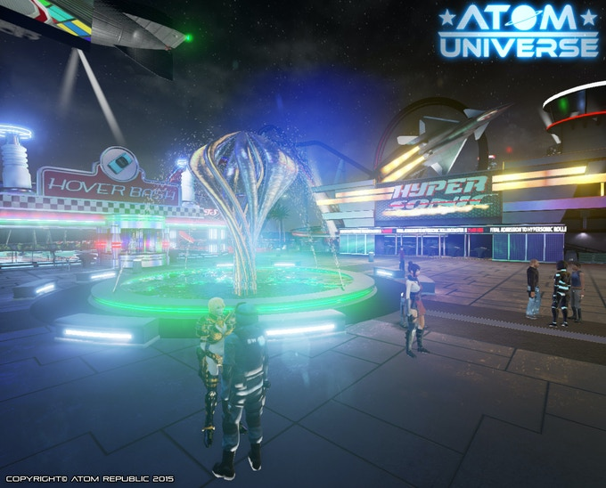 meet friends and play games in our virtual theme park!