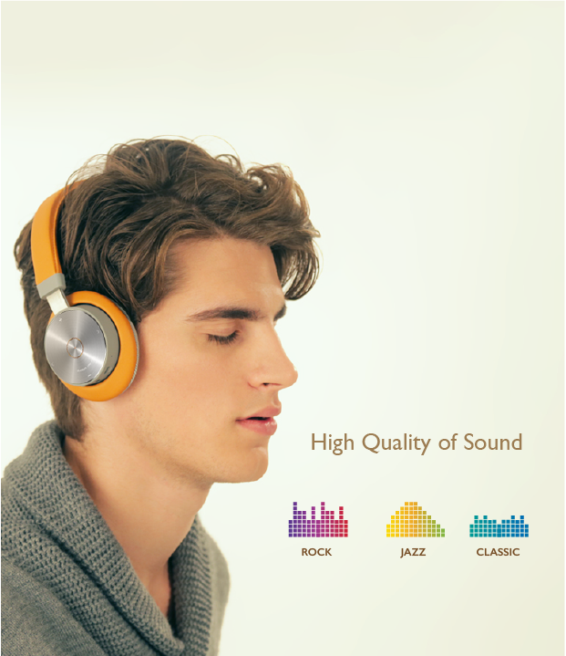 High Quality of Sound