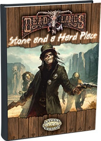 Stone and a Hard Place is a 160-page, 8.5 by 11, full-color hardback!