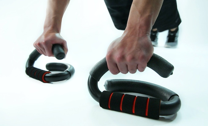 STABLE BASE - In Stable Mode the Legend Pushup provides a stable base and functions just like standard pushup bar