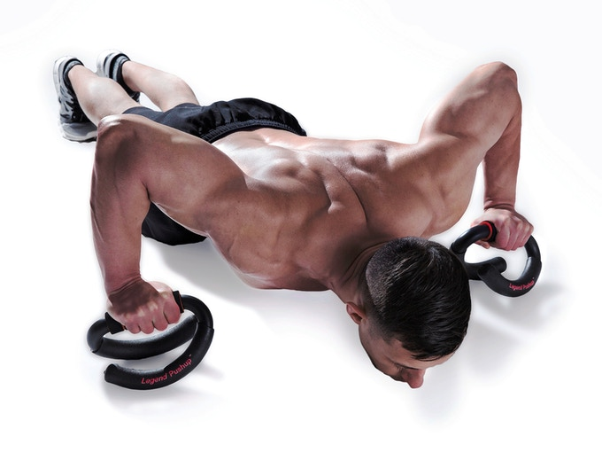 LEGEND PUSHUP - Pushup bars reinvented for the modern age