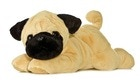 Sample Chloey the Pug plush toy