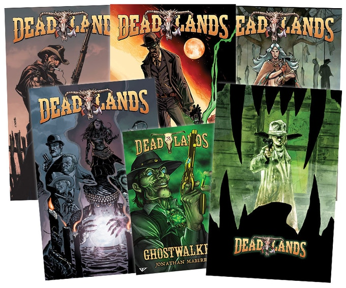A collection of Visionary's Deadlands Comics!