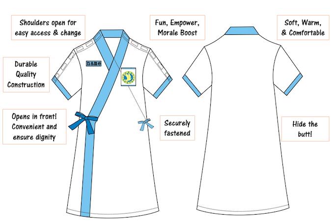 SuperHealos Gown Design