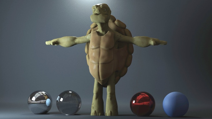 Render test with Shelldon