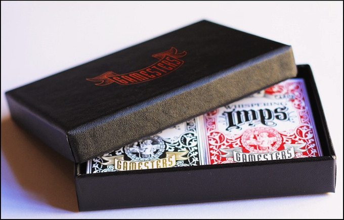 2 Limited Edition Gamesters Decks in Collectors Box