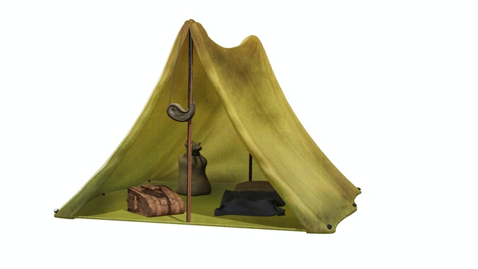 Battle-Worn Tent