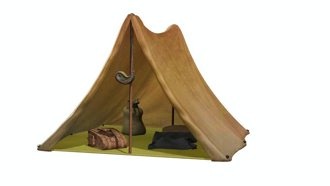 Brown Tent