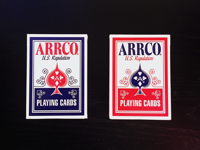 ARRCO Card Box Front