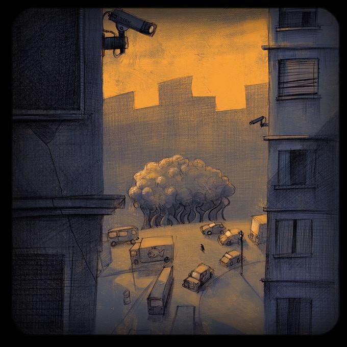 Illustration: 'CCTV footage'