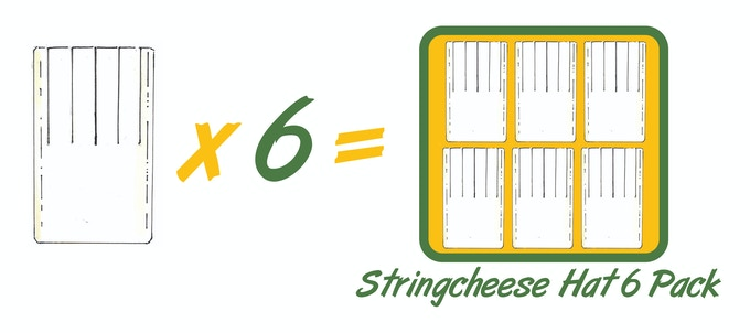 $250 Reward - String Cheese Hat 6 Pack