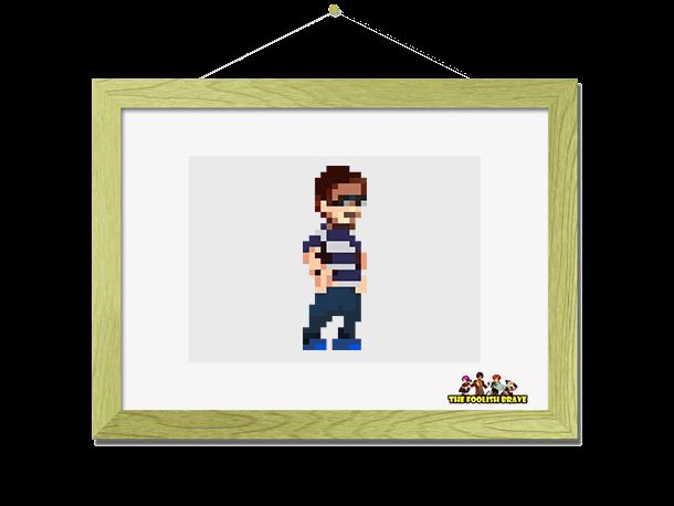 Framed pixel art!