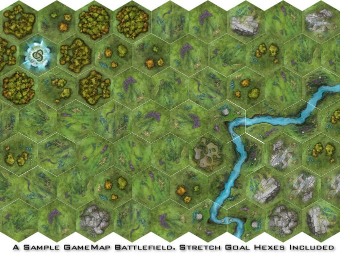 TERRATiles: A Tabletop Terrain System by Heath and Seth