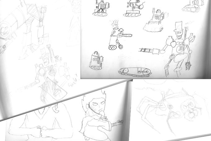 More recent sketches