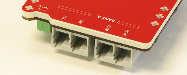 Motor and Sensor Ports (on both sides)